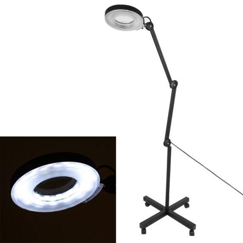 New Glass Diopter Stand Magnifying Facial Light