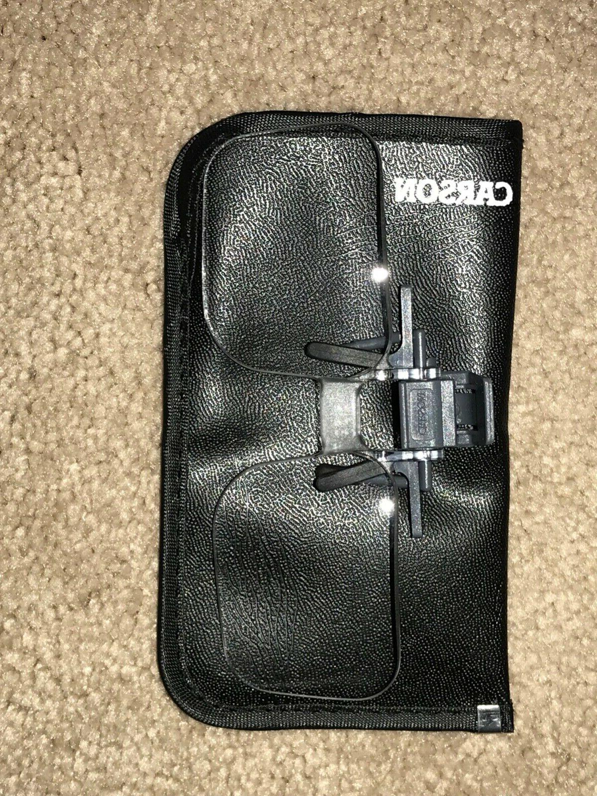 optical clip and flip up magnifiers reading
