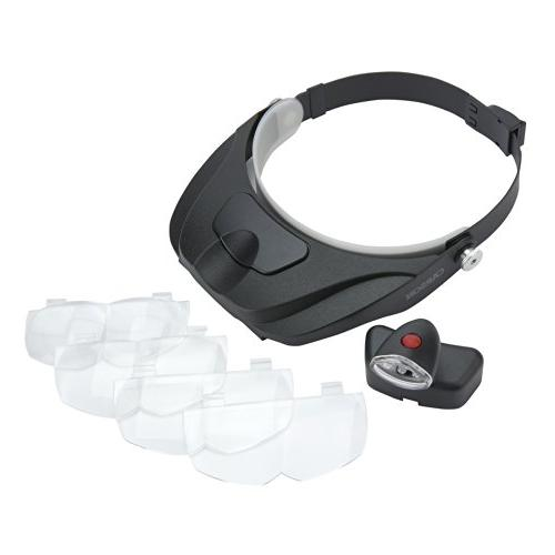 Carson Pro Series Lighted Magnifier with Different Lenses