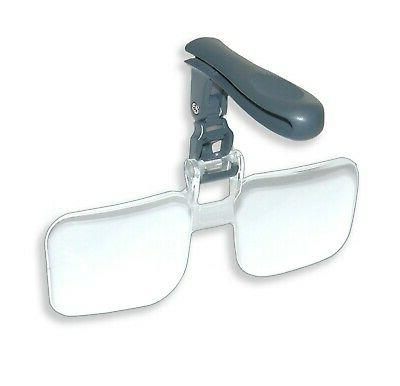 optical visormag power clip magnifying