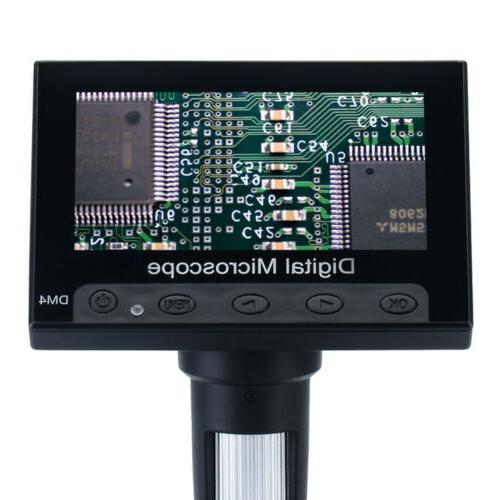 """4.3"""" Monitor Digital Video Microscope LED Magnifier"""