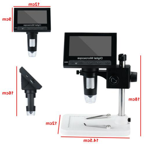 """4.3"""" Monitor Microscope LED Magnifier"""