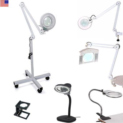 professional magnifying magnifier lamp light free standing