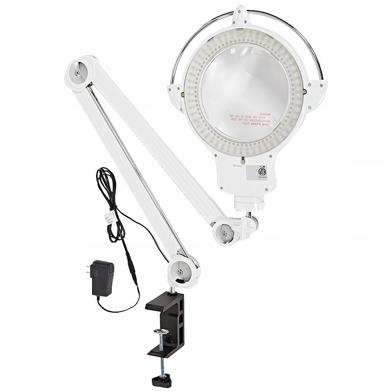 provue touch white magnifying lamp