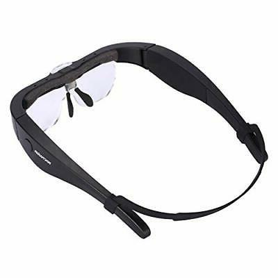 YOCTOSUN Magnifier Glasses, 2 LED
