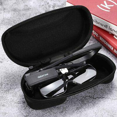 YOCTOSUN Rechargeable Glasses, Hands Mount Magnifier 3
