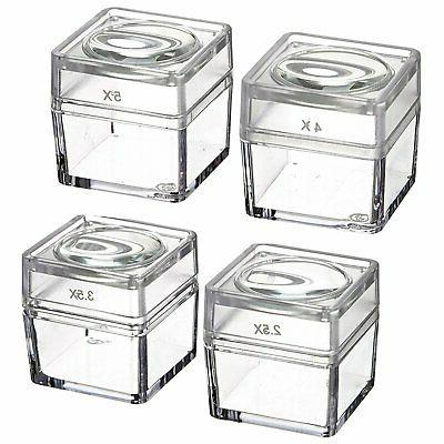 se mb2345 4 snap on magnifier cubes