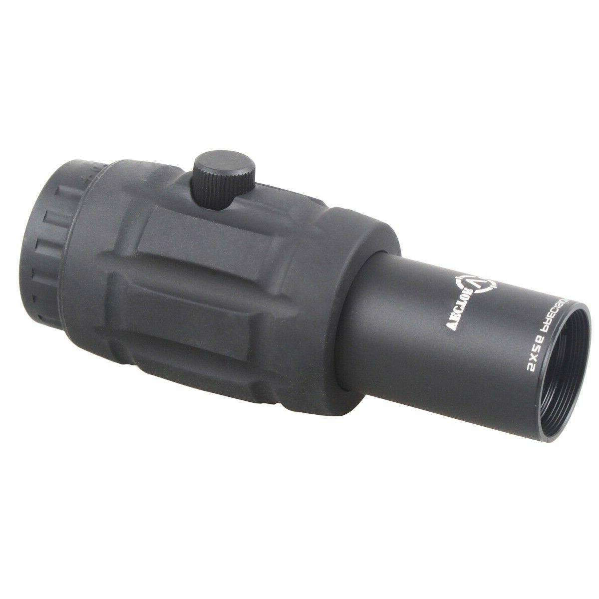 Vector Magnifier Red Dot Side