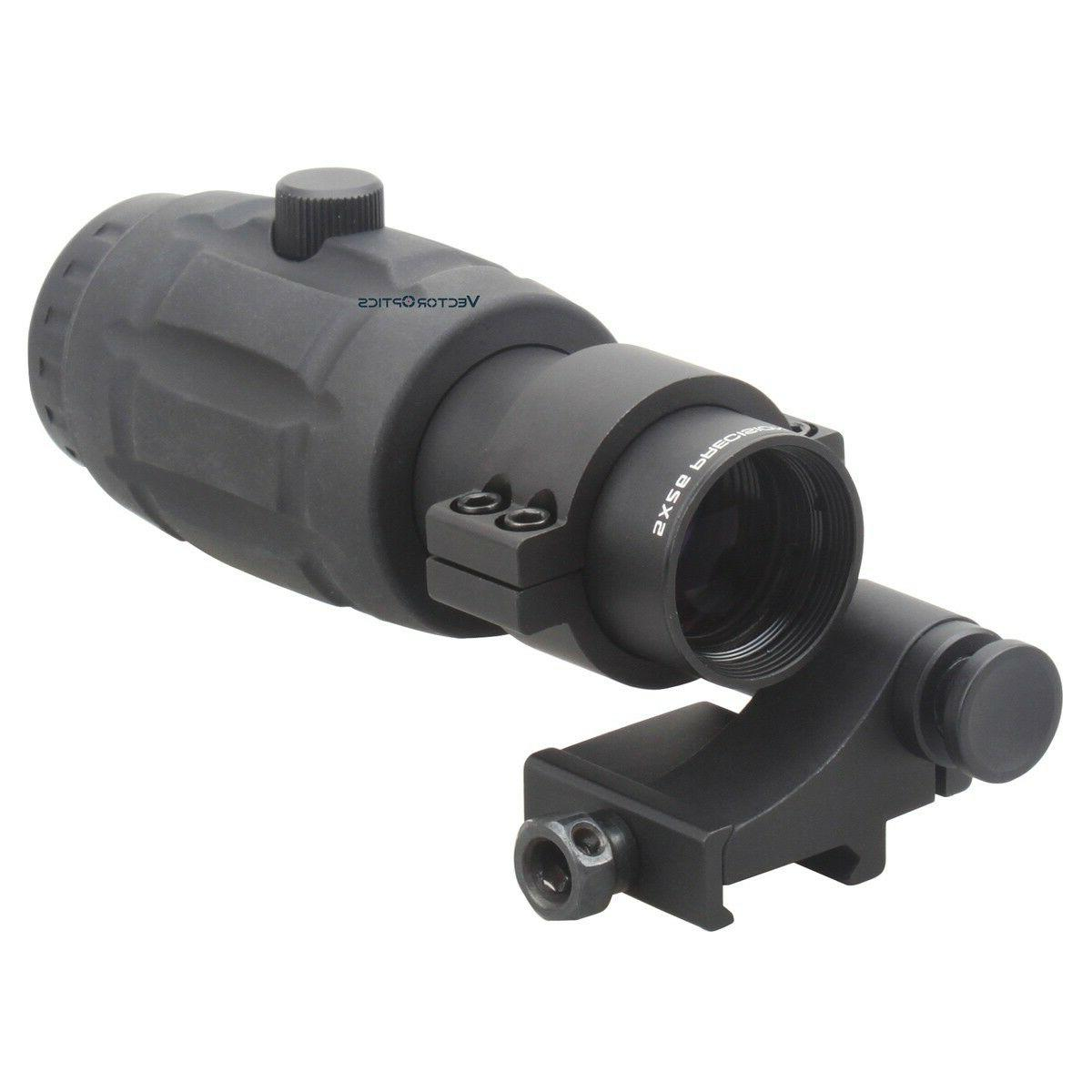 tactical 5x magnifier scope for red dot