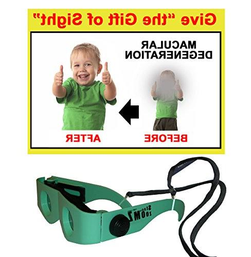 Two of Glasses, Light Levels, aid Macular Degeneration to See Again. See Guarantee.