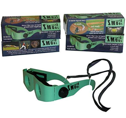 two binocular glasses