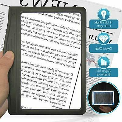 ultra bright page magnifier