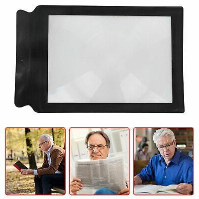Magnifier Book Reading Lens Glass A4 Page US