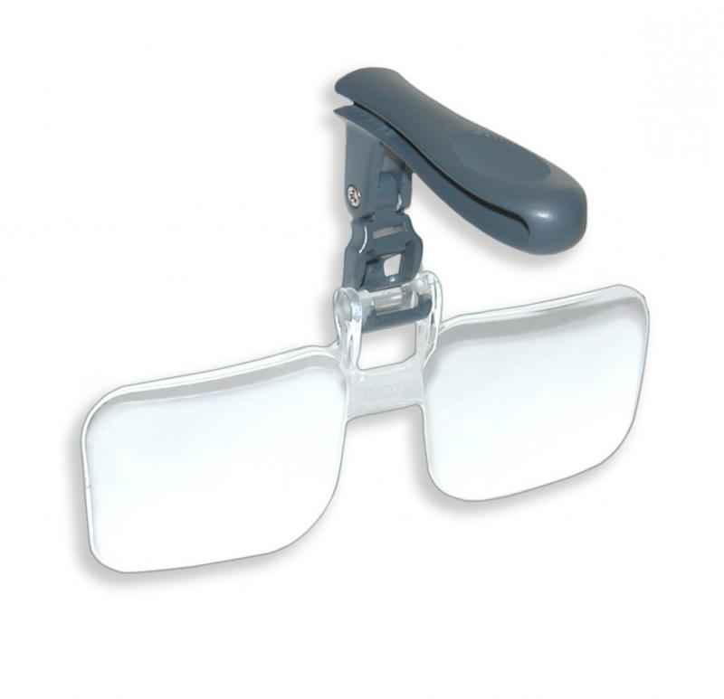 optical visormag clip on magnifying lens