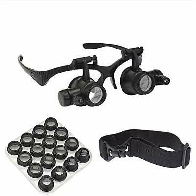 Watch Repair Magnifier Loupe Jeweler Magnifying Glasses Tool
