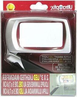UltraOptix LED Lighted Folding Magnifier