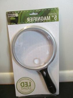 Lighted 5 Inch Round Magnifier