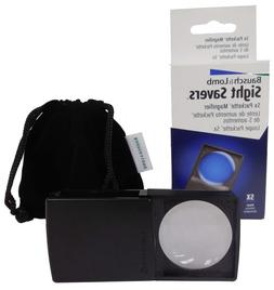 Bausch & Lomb Packette Pocket Magnifier Loupe 5X Free US Shi