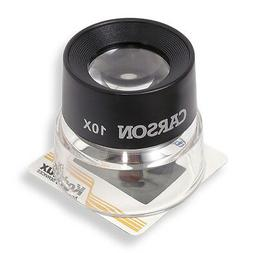 Carson 10X Loupe Magnifier HIGH POWER MAG - SHIPS OUT NEXT D