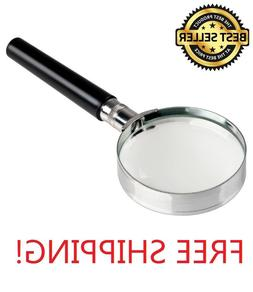 magnification handheld 10x magnifier 2 inches magnifying