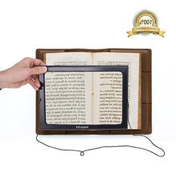 Magnifier Magnifying Glass LED Lighted Illuminated Hands Fre