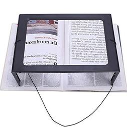 Magnifying Glass Hands-Free Large Rectangular Full-Page Magn