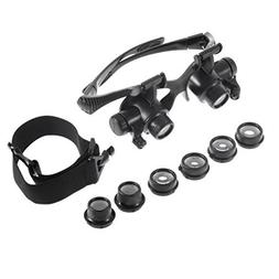 Magnifying Glasses with Light - 10X 15X 20X 25X High Powered