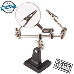 Magnifying Holder Helping Hands Stable Base Tools For Electr