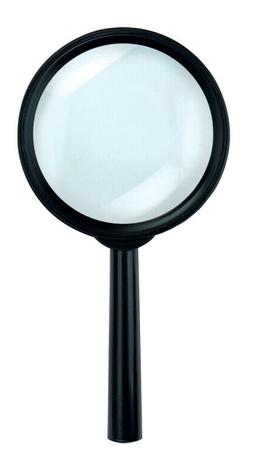 """SE MH7009C 3"""" Handheld Magnifier with 5x Magnification"""