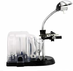 Multi-Functional Magnifier Desk Lamp 2.5X 5X 16X Magnifying