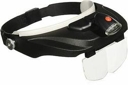 Carson Optical Pro Series MagniVisor Deluxe Head-Worn LED Li