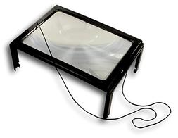 Full Page Magnifier Hands Free 3X Magnification Magnifying F