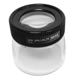 "PEAK TS2032 Fixed Focus Loupe, 10X Magnification, 1"" Lens Di"