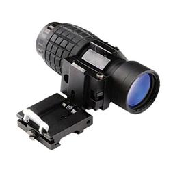 Lywey 3X Magnifier Tactical Scope Sight With Flip To Side Ra