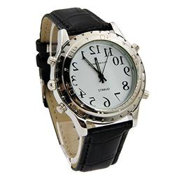 Talking Wrist Watch, English Speaking Talking Watch for Blin