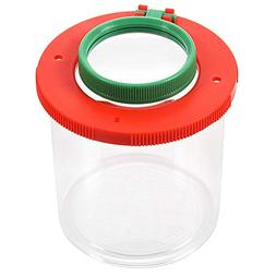 4X Two Lens Insect Viewer Locket Box Magnifier Bug Magnifyin